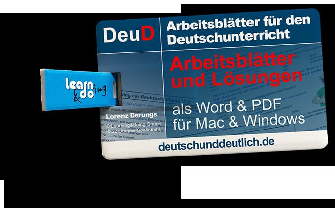 Arbeitsblätter Deutsch Und Deutlich Stil Und